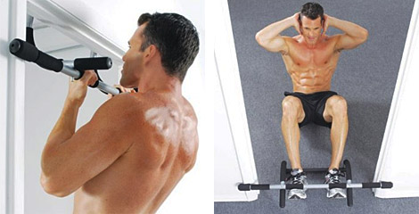 Iron gym upper body workout bar